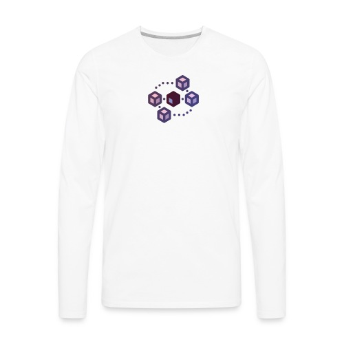 Delegate Proof of Stake (dPOS) Collection - Men's Premium Long Sleeve T-Shirt