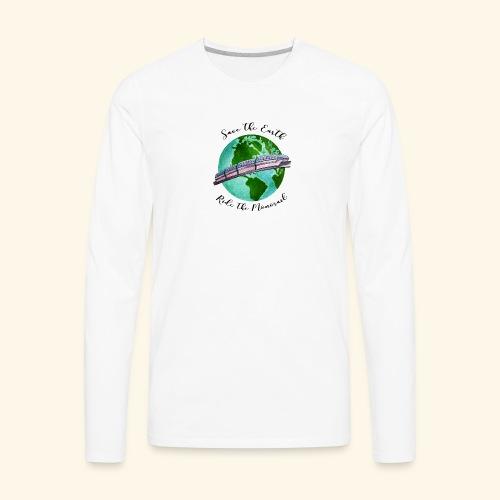 Save the Earth - Men's Premium Long Sleeve T-Shirt