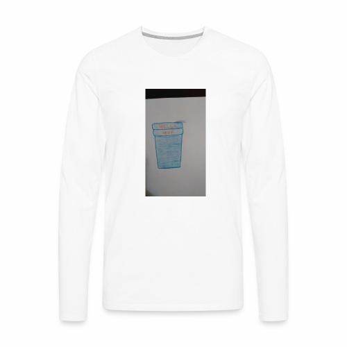 Purple acti - Men's Premium Long Sleeve T-Shirt
