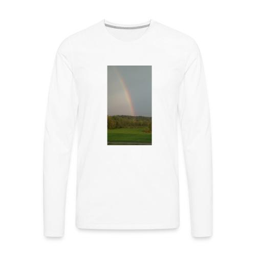 Rainbow in the Mist - Men's Premium Long Sleeve T-Shirt