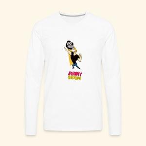 jhonny bravo my 1 - Men's Premium Long Sleeve T-Shirt