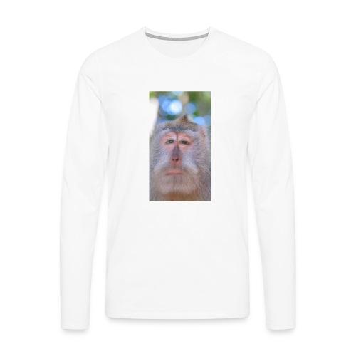 Monkeying Around - Men's Premium Long Sleeve T-Shirt