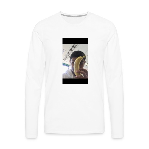 lil banana - Men's Premium Long Sleeve T-Shirt