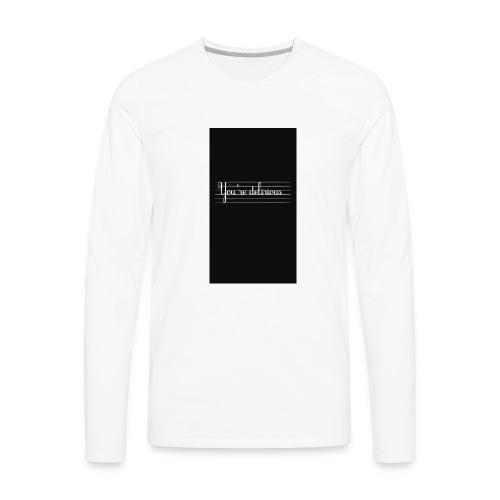 YOURE DELIRIOUS SHORT SLEEVE SHIRT - Men's Premium Long Sleeve T-Shirt