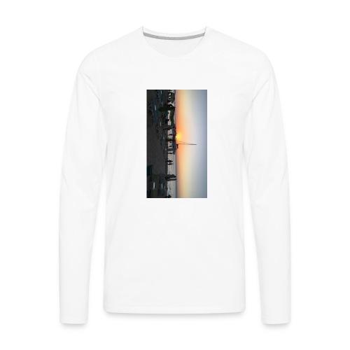 Sunset Admiration - Men's Premium Long Sleeve T-Shirt