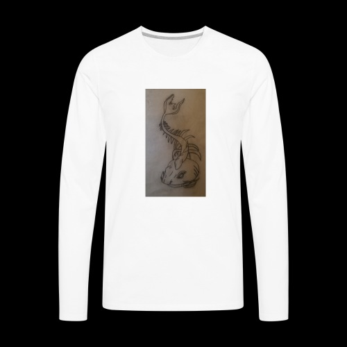 Bone catfish - Men's Premium Long Sleeve T-Shirt
