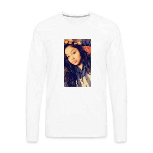 Dont say your not cute cuase every girls is cute - Men's Premium Long Sleeve T-Shirt