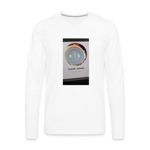 Isaiah James bundle set - Men's Premium Long Sleeve T-Shirt