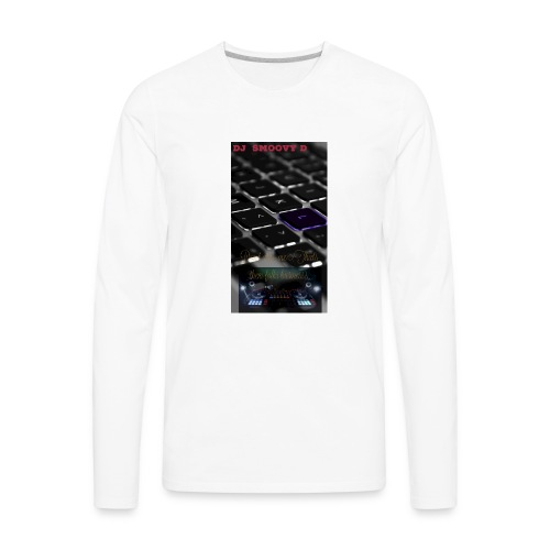 Dj SmooVy D - Men's Premium Long Sleeve T-Shirt