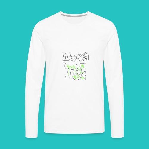 IsaiahTSE LOGO - Men's Premium Long Sleeve T-Shirt