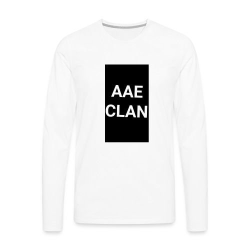AAE CLAN MERCH - Men's Premium Long Sleeve T-Shirt