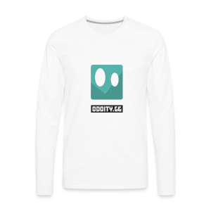 Black Oddity Icon - Men's Premium Long Sleeve T-Shirt