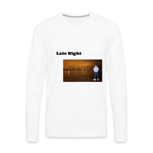 Late Night - Men's Premium Long Sleeve T-Shirt