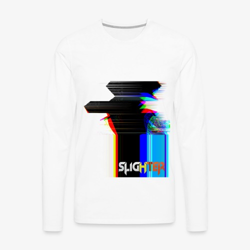 Chroma Glitch - Men's Premium Long Sleeve T-Shirt