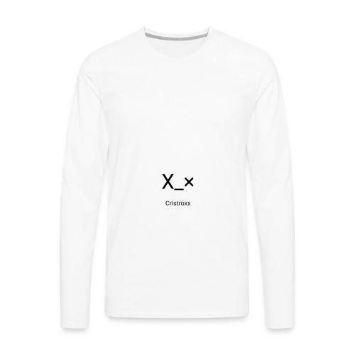Cristroxx Tees - Men's Premium Long Sleeve T-Shirt