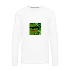 Smoke meme - Men's Premium Long Sleeve T-Shirt
