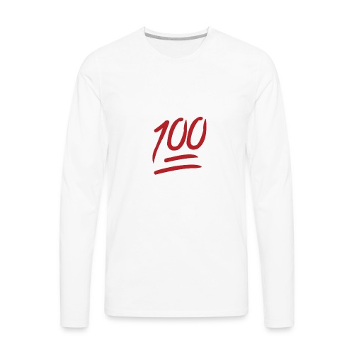 100 MEN BOR!! - Men's Premium Long Sleeve T-Shirt