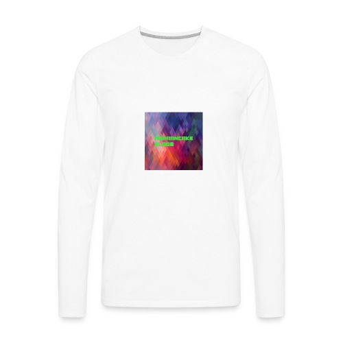 Official MrPaanake LOGO - Men's Premium Long Sleeve T-Shirt