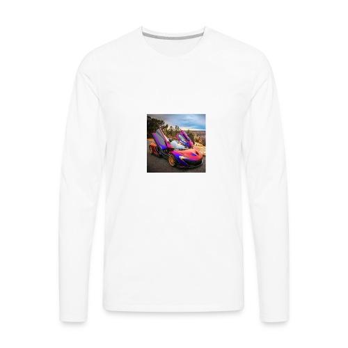 like a boss - Men's Premium Long Sleeve T-Shirt