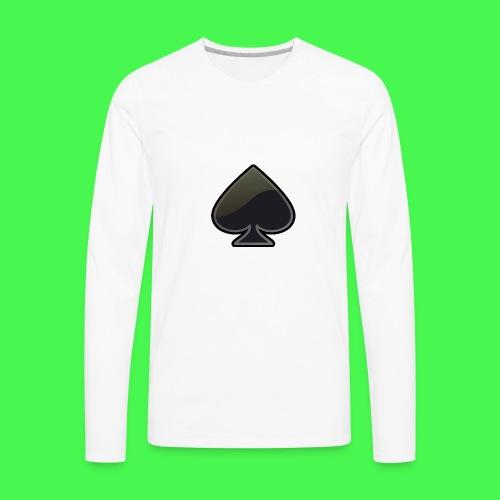 spade-304399_640 - Men's Premium Long Sleeve T-Shirt