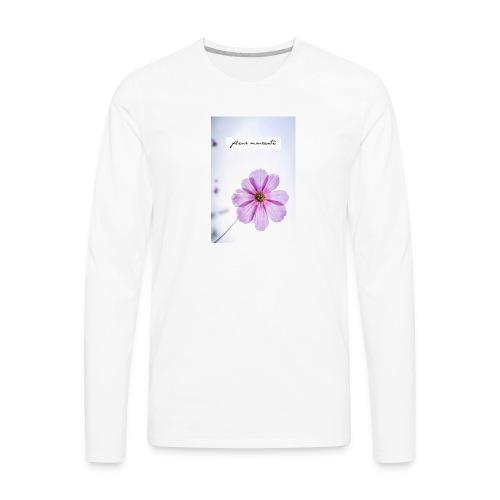 Pink Distress - Men's Premium Long Sleeve T-Shirt