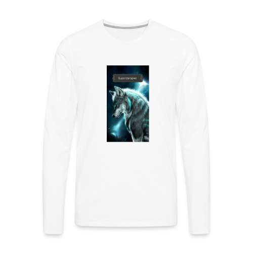 Superstarspike on youtube - Men's Premium Long Sleeve T-Shirt