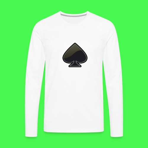 spade-304399_640 - Men's Premium Long Sleeve T-Shirt