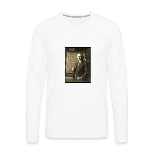 Professor Einstein - Men's Premium Long Sleeve T-Shirt