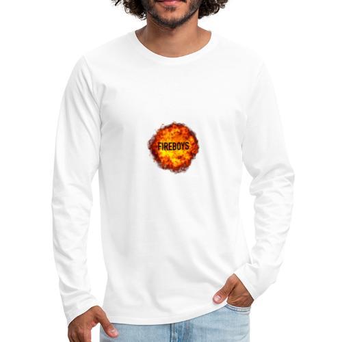 Original fireboys merch - Men's Premium Long Sleeve T-Shirt
