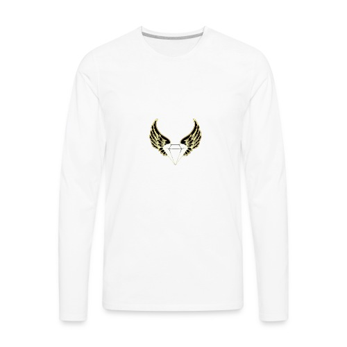 black and yellow glo edition - Men's Premium Long Sleeve T-Shirt