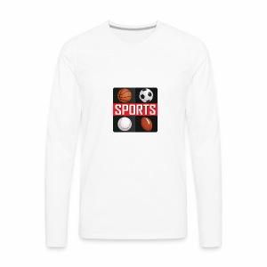 Sport T-shirt - Men's Premium Long Sleeve T-Shirt