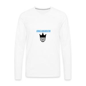 king symbol - Men's Premium Long Sleeve T-Shirt