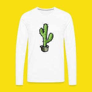 Prickly Cactus - Men's Premium Long Sleeve T-Shirt