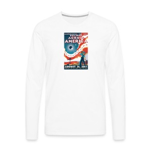 Official 2017 Eclipse Across America Gear - Men's Premium Long Sleeve T-Shirt