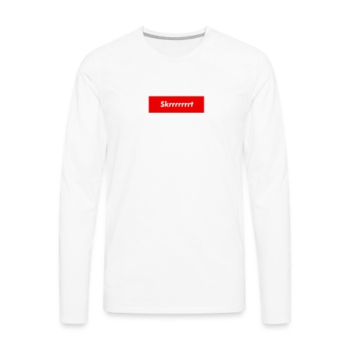 Skrrt BOXLOGO 2 - Men's Premium Long Sleeve T-Shirt