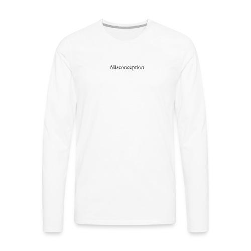 Misconception SS18 - Men's Premium Long Sleeve T-Shirt