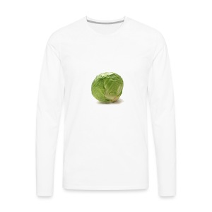 CabbageTexts Streetwear - Men's Premium Long Sleeve T-Shirt