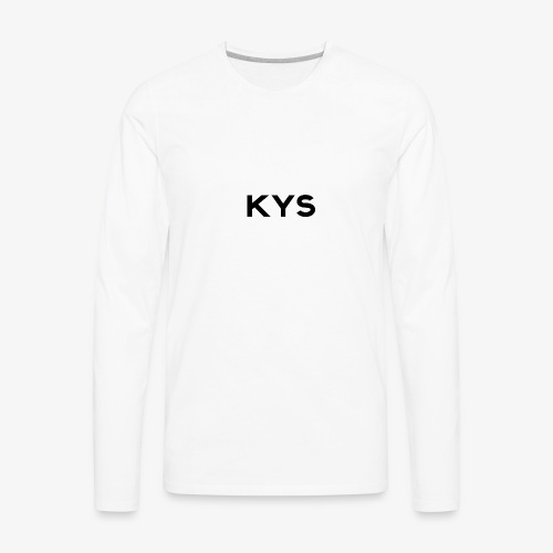 KYS - ClassA - Men's Premium Long Sleeve T-Shirt