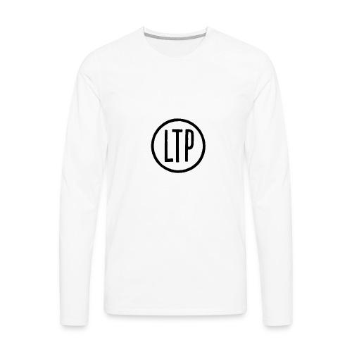 LTP White T-Shirt - Men's Premium Long Sleeve T-Shirt