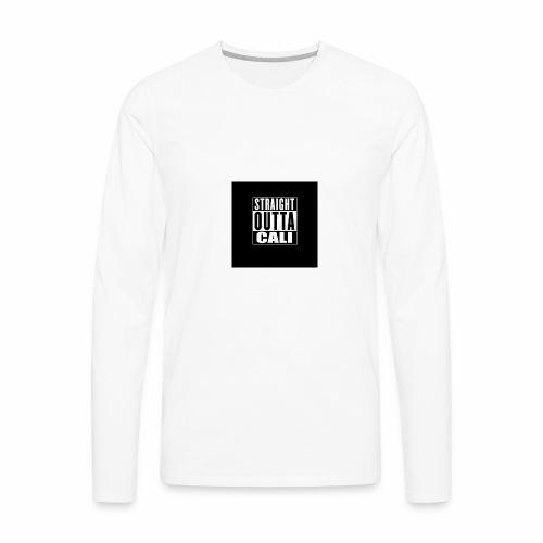 Straight Outta Cali - Men's Premium Long Sleeve T-Shirt