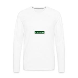 OFF BRAND BREW GREEN LOGO - Men's Premium Long Sleeve T-Shirt