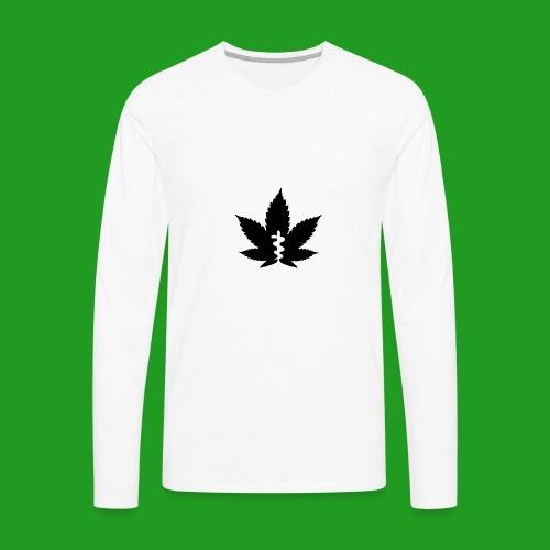 Medical Leaf - Men's Premium Long Sleeve T-Shirt
