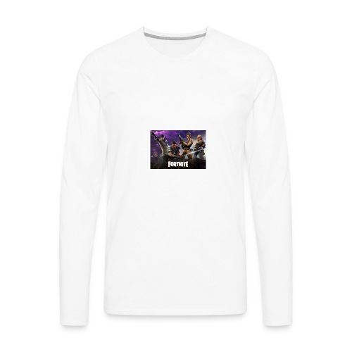 Fortnite 604x423 - Men's Premium Long Sleeve T-Shirt