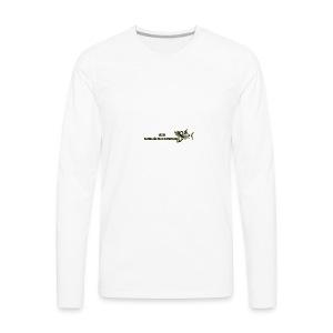 MIWO Skeleton Logo - Men's Premium Long Sleeve T-Shirt