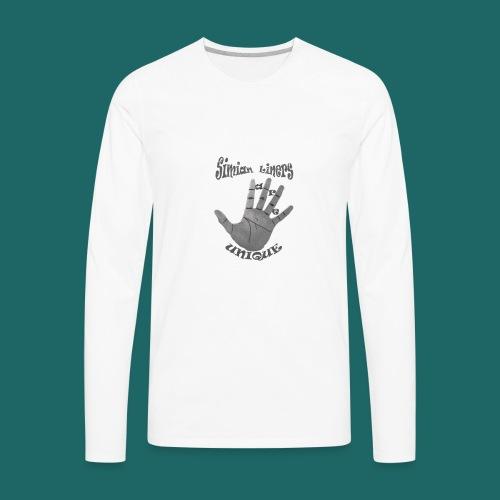 Simian Liners - Men's Premium Long Sleeve T-Shirt