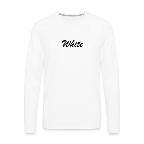 Color shirt - Men's Premium Long Sleeve T-Shirt