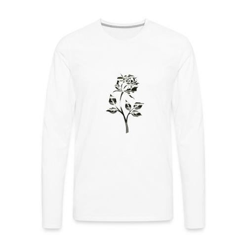 Rose by Originals - Men's Premium Long Sleeve T-Shirt