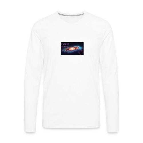 Dubstep Gaming Galaxy Design - Men's Premium Long Sleeve T-Shirt