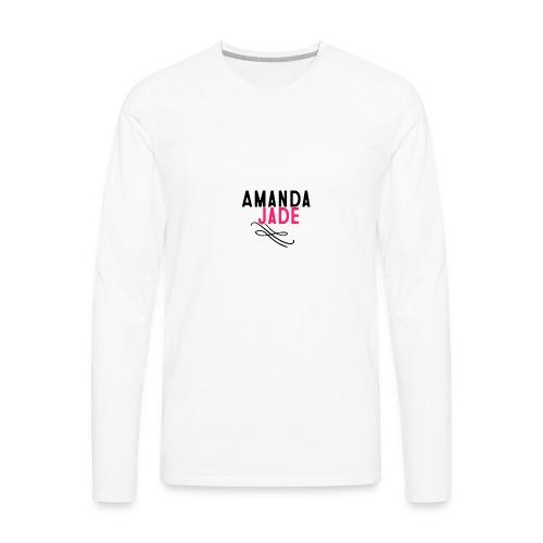 Amanda Jade - Men's Premium Long Sleeve T-Shirt