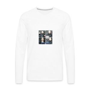 Weirdly Collage! - Men's Premium Long Sleeve T-Shirt